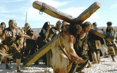 Meddig viszed a keresztet? Jézus a kereszten.